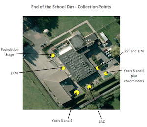 Ashby Willesley Community Primary School Collection Points